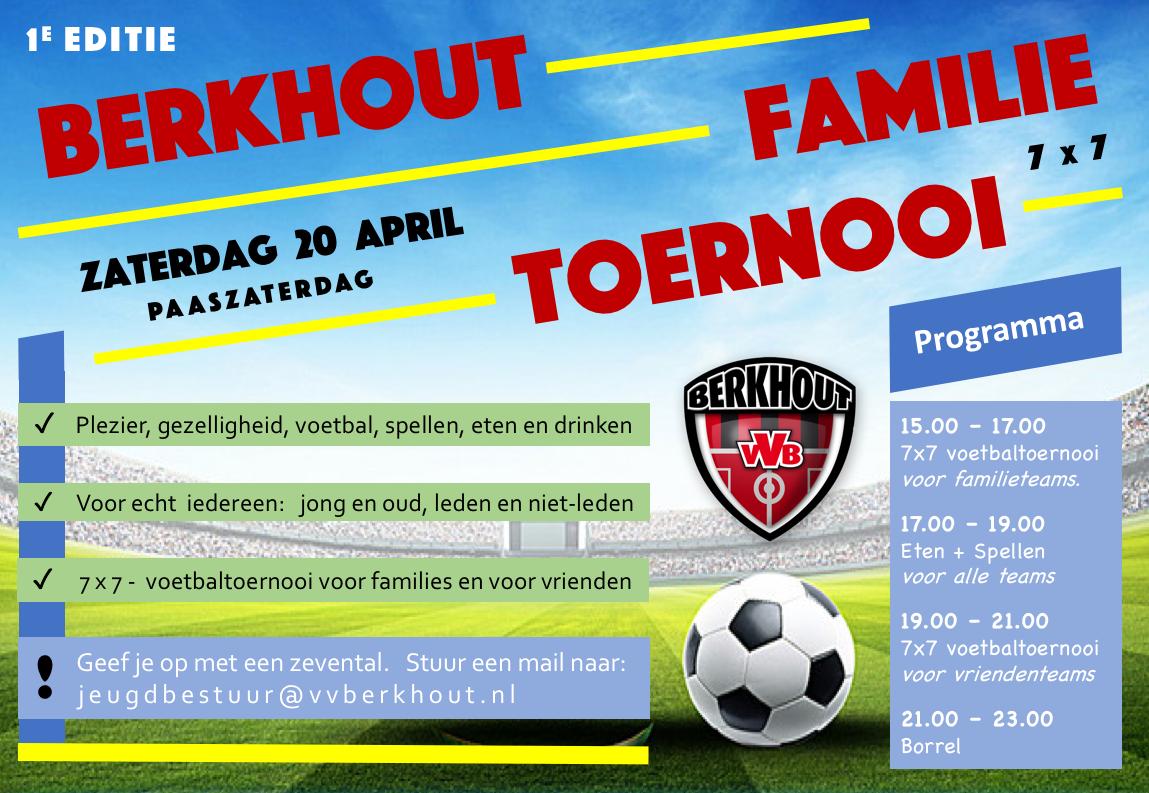 NIEUW!   Berkhout Familie Toernooi